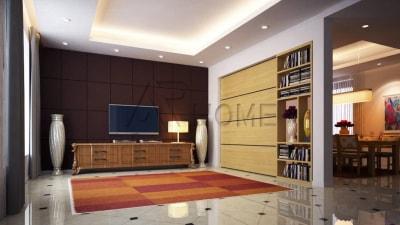 Mẫu thiết kế nội thất nhà phố hiện đại, sang trọng của Arhome
