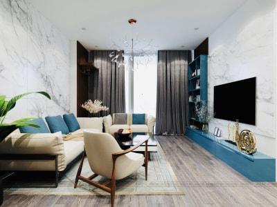 Xu hướng Thiết kế nội thất Phòng khách 2020 đẹp Sang trọng