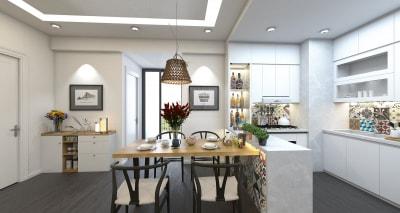 Cách thiết kế nội thất nhà bếp đẹp và tiết kiệm chi phí