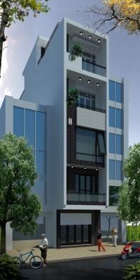 Nhà phố mặt tiền 4 x 12m phong cách hiện đại dẫn đầu xu hướng