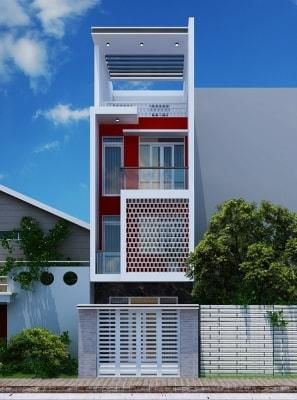 Thiết kế nhà phố diện tích 4,5m x 10m khoa học cho không gian sống thêm thoải mái