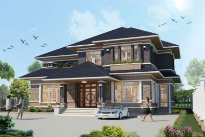 Đặc điểm của phong cách thiết kế biệt thự kiểu Nhật đang thịnh hành hiện nay