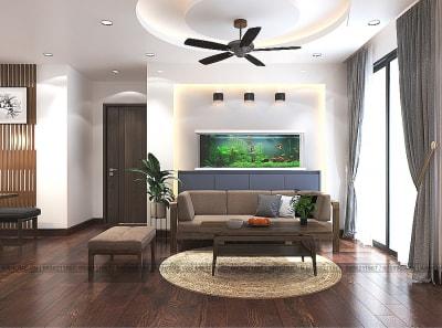Thiết kế nội thất căn hộ chung cư An Bình City