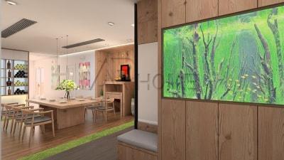 Tư vấn thiết kế nội thất phòng bếp tuyệt đẹp cho biệt thự hiện đại