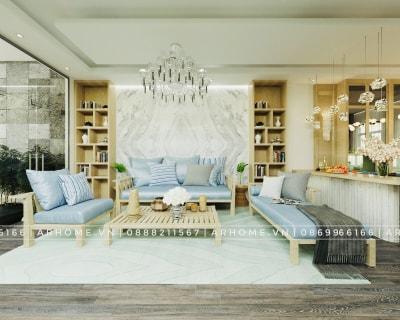 Hô biến tầng 1 nhà phố cũ kỹ thành không gian tuyệt đẹp nhờ thiết kế nội thất mới