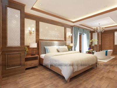 Cách trang trí nội thất phòng ngủ theo phong cách Tân cổ điển
