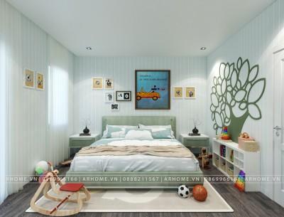 Tổng hợp các mẫu thiết kế nội thất phòng ngủ trẻ em nổi bật nhất năm 2021