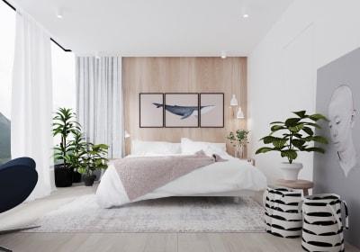 Mẫu thiết kế nội thất phòng ngủ hiện đại trở thành xu hướng năm nay