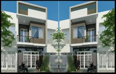 Tiết kiệm chi phí với những mẫu nhà phố 2 tầng mái thái 500 triệu đồng