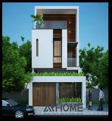 Mẫu nhà phố 8x20m đẹp lạ hút mắt người nhìn