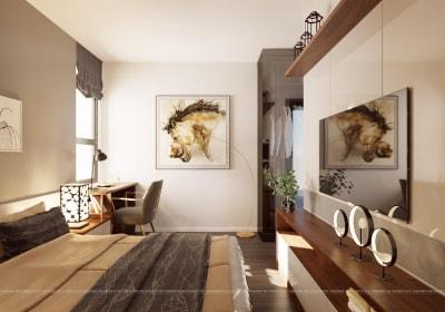 Thanh lịch & Ấn tượng với Thiết kế nội thất chung cư 80m2 Hiện đại