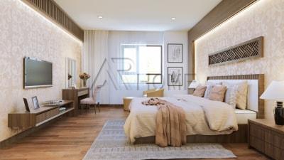 Mẫu thiết kế nội thất phòng ngủ nhà anh Thủy, Nghệ An