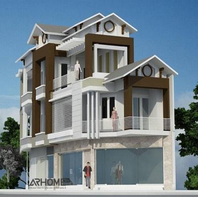 Những mẫu nhà phố 3 tầng diện tích 30m2 dẫn đầu xu hướng 2020