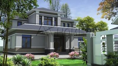 Top 3 mẫu thiết kế biệt thự nhà vườn được giới kiến trúc đánh giá cao năm nay