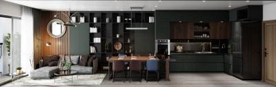 Tông màu mới trong thiết kế nội thất đẹp