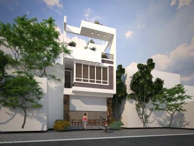 Tổng hợp những mẫu nhà phố 3 tầng mặt tiền 5m tuyệt đẹp