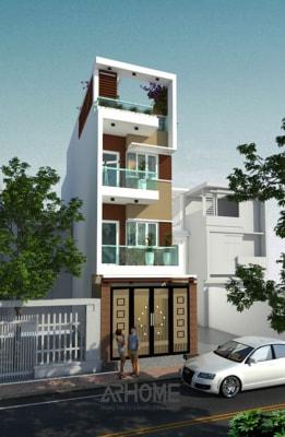 Tuyệt sắc mẫu nhà phố 3 tầng 2 mặt tiền 6x15m