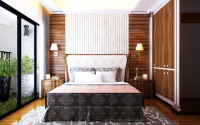 Vẻ đẹp của phong cách thiết kế nội thất phòng ngủ mang đậm nét Á Đông