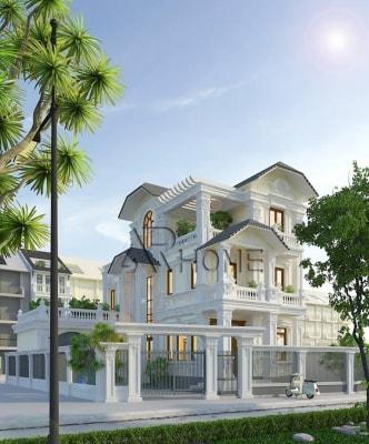 Top 10 mẫu biệt thự 3 tầng đẹp nhất Hà Nội