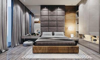 Báo giá thi công nội thất căn hộ studio Vinhome Smart City