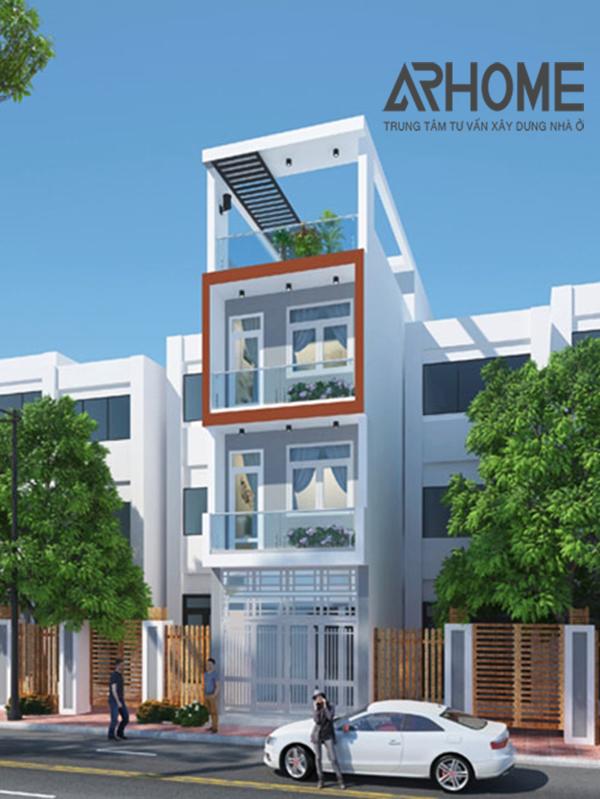 Top 4 mẫu nhà phố 4 tầng 4x8m chắc chắn sẽ được ưa chuộng 2018