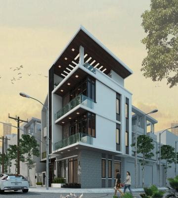 Tổng hợp những mẫu thiết kế nhà phố hiện đại của Arhome