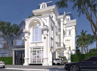 Đẹp tuyệt với Thiết kế nội thất nhà phố phong cách Biệt thự Tân cổ điển