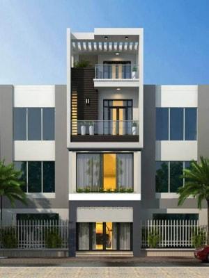 Những mẫu nhà phố 4 tầng ấn tượng với đường nét thanh thoát, tiết kiệm chi phí