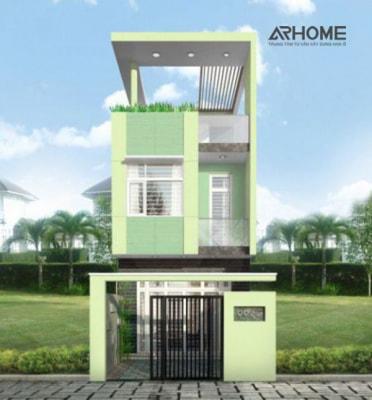 5 mẫu nhà phố 2 tầng xanh 6x10m đẹp lung linh vô cùng hút mắt