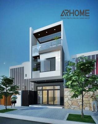 Mẫu nhà phố 3 tầng 4x15m đẹp như mơ