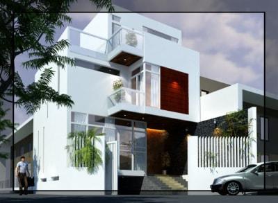 Đẹp mê mẩn với 8 mẫu Thiết kế nhà phố Hiện đại 2 tầng
