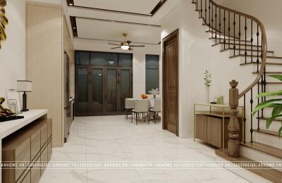 4 loại thiết kế cầu thang thường dùng nhất cho nhà phố, liền kề, biệt thự