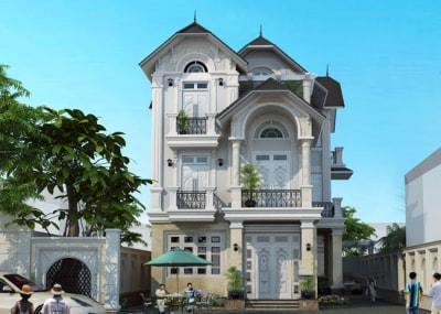 Đã mắt với mẫu nhà phố 3 tầng 4x15m tân cổ điển cao cấp