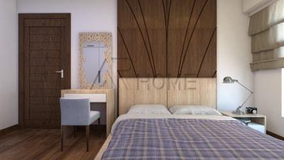 Mẫu thiết kế nội thất phòng ngủ nhà anh Nam, Nghệ An