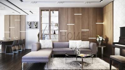 Những điều cần lưu ý khi thiết kế nội thất căn hộ chung cư 2 phòng ngủ