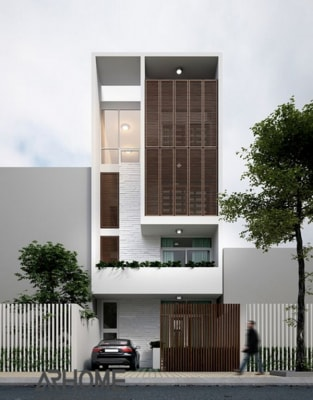 Mẫu nhà phố 3 tầng 5x17m tuyệt đẹp