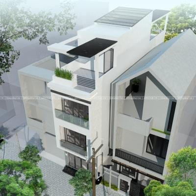 Những mẫu nhà phố 5x17m đẹp nhất