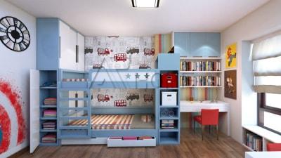 Những mẫu thiết kế nội thất phòng ngủ tuyệt đẹp cho trẻ em