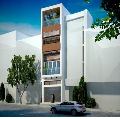 Những mẫu nhà phố 3 tầng mặt tiền 3.5m hiện đại nhất