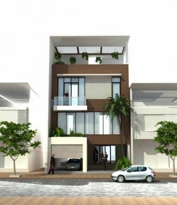 Những mẫu nhà phố 3 tầng mặt tiền 6.5m đẹp nhất