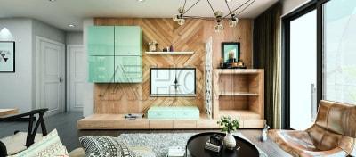 Gợi ý mẫu thiết kế nội thất phòng khách chung cư Linh Đàm
