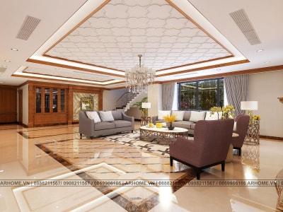 Thiết kế nội thất căn hộ Penthouse dự án Tecco Complex đẳng cấp, sang trọng (Phần 2)