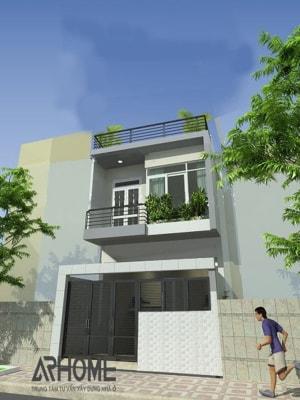 Những mẫu nhà phố 2 tầng 3x10m tuyệt đẹp chinh phục mọi gia chủ năm 2020