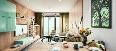 Thiết kế nội thất chung cư diện tích 70m2 đẹp, sang trọng