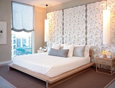 Hướng dẫn thiết trang trí đầu giường để có một thiết kế nội thất phòng ngủ tươi mới