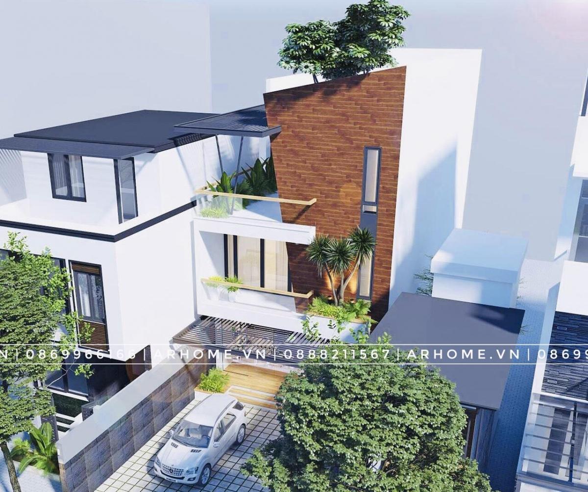Tổng hợp các mẫu thiết kế nhà 3 tầng hiện đại mặt tiền 5m nổi bật nhất năm 2020