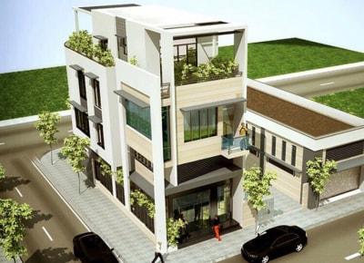 Xanh mát & Ấn tượng với nội thất của mẫu Thiết kế nhà phố 3 tầng 4x18m