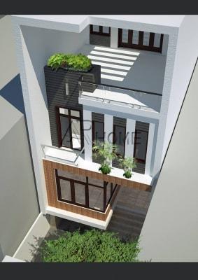 Hút hồn trong mẫu thiết kế nhà phố 2 tầng hiện đại