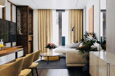 Các Mẫu Thiết kế nội thất phòng khách đẹp do Arhome Thiết kế và Thi công phần 3