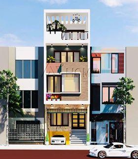 Xu hướng thiết kế Liền kề đẹp 4 tầng 5x20m đẹp nhất 2020